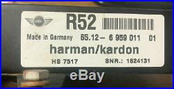 05 06 07 08 Mini Cooper R52 Audio Radio Amplifier Amp Module Harman Kardon