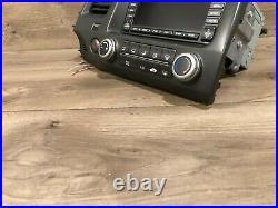 06-11 Honda CIVIC Oem Stereo Gps Navigation Map Display Screen Monitor Headunit