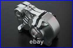 1/5 rc car gas Triple piece alloy gearbox gear box baja 5b HPI KM Rovan