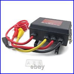12000lbs Winch Control Box with 12V Solenoid Wireless Remote Control