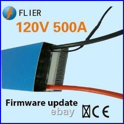 120V HV 500A ESC for 154120 brushless motor with program box, brushless esc