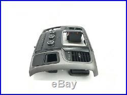 15-17 Dodge Ram 1500 2500 3500 AC Heater Dash Climate Panel Radio Bezel Vents