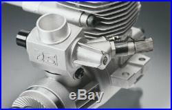 15490 OS Engines Max 46AX II Nitro Model RC Plane Engine + Silencer New & Boxed