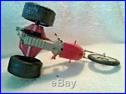 1960's Original Cox Gas Powered Sportster Chopper Trike #6700 Box & Instruction