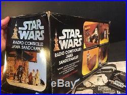 1979 Vintage Kenner Star Wars Jawa Radio Controlled Sandcrawler WORKS! WithBOX