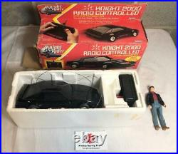 1982 Knight Rider 2000 Radio Controlled Complete with Box & Michael Knight Figure