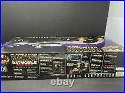 1989 Barman Batmobile Rich Mans Toys Radio Controlled 1/10 Scale New In Box