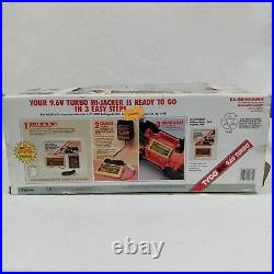 1993 Tyco HI-JACKER 9.6V Turbo R/C Remote Control Car in Original Box