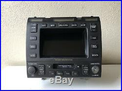 1998 1999 2000 Lexus Ls400 Navigation Monitor Display Screen Map Radio Oem 98 99