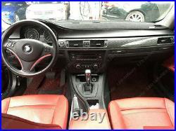 1set 5D Reflective Carbon Fiber Interior Decal Sticker Trim Cover For BMW E90