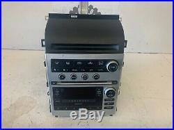 2005-2007 Infiniti G35 BOSE Radio Player Changer A/C Temp Climate Control Panel