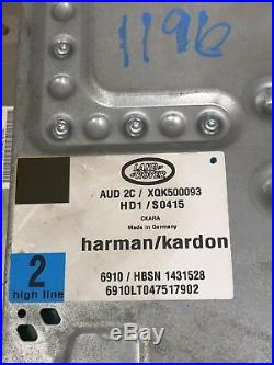 2005-2009 Land Range Rover LR3 Radio Audio AMP Amplifier Harman Kardon OEM