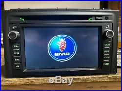 2007-2011 Saab 9-3 93 Oem Navigation Screen Monitor Display Gps Map Radio