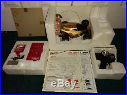 4WD Turbo-4 Radio Remote Control Car Tyco Taiyo 1988 USED VINTAGE WITH BOX
