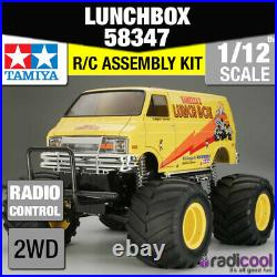 58347 TAMIYA LUNCH BOX 1/12th R/C KIT RADIO CONTROL 1/12 TRUCK NEW IN BOX