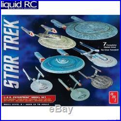 AMT 954 1/2500 Star Trek Uss Enterprise Box Set Snap