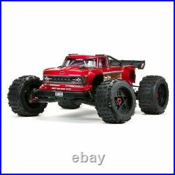 ARRMA ARA5810 Outcast 8S BLX 1/5 Stunt Monster Truck Red RTR New in Box