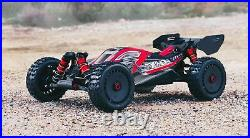 ARRMA ARA8606V5 Typhon 6S BLX 1/8 Buggy Truck Red Black RTR New in Box