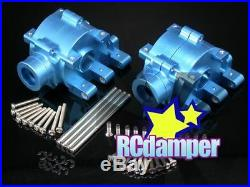 Alloy Differential Diff Gearbox B Thunder Tiger Mta4 Mta-4 Front & Rear Gear Box
