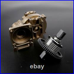Alloy Middle Diff Gear Kit Gearbox Transmission Box for 1/5 losi 5ive-T Rovan LT