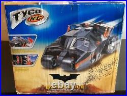 Batman Begins Batmobile Tumbler Tyco 16 Radio Control R/C in Original Box 2004