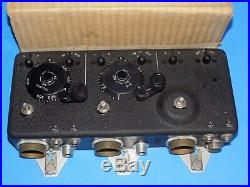 Bc-944-a Radio Control Box Scr-274-n Arc-5 Military Aircraft Radio Set In Box