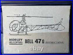 Bell 47 G Vintage Morley Helicopter, New in Box