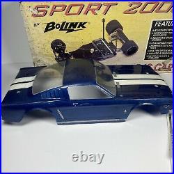 Bolink Sport 2000 Pan Car Vintage Original Box Manual 65 Mustang Novak 610-HRV