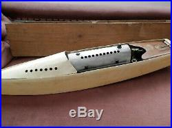 Bowman Live Steam model Eagle Steamboat 1930s boxed