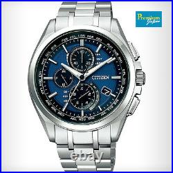 CITIZEN AT8040-57L ATTESA Eco-Drive Radio-controlled Men's Watch Japan Model New