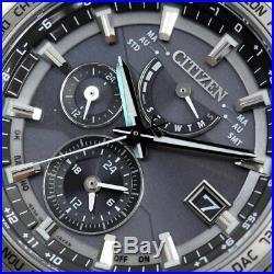 CITIZEN ATTESA Eco-Drive AT9091-51H Radio Control Men's Watch New in Box