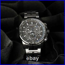 CITIZEN CB5887-55H Eco-Drive Radio-Controlled Chronograph World Time Men's Watch