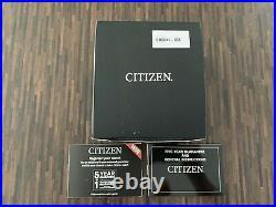 CITIZEN Eco-Drive Promaster Navihawk Chrono Radio Controlled Watch (CB5841-05E)