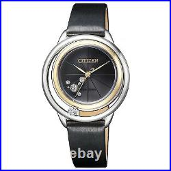 CITIZEN L COLLECTION EW5526-11 Eco-Drive Radio-Controlled Ladies Watch JAPAN