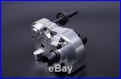 CNC Complete Gear Box with Heavy-Duty Diff Gears for KM HPI BAJA 5B 5T SS Rovan