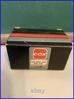 COX Model Airplane Engine 049 Tee Dee #170, In Original Box, New, Unused