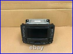 Cadillac Oem Cts Front Navigation Screen Monitor Headunit DVD Radio 2003-2007