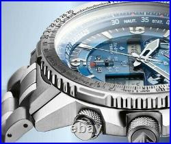 Citizen JY8100-80L Radio Controlled Super Pilot Titanium Eco-Drive Sapphire