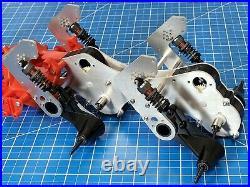 Custom Aluminum Dual Gear Box Frame Bracket for Tamiya Blackfoot Monster Beetle