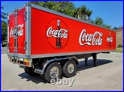 Custom Tamiya R/C 1/14 Semi Trailer Truck Box Container #56302 Coca Cola Decal