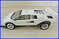 DOYUSHA RC Car 1/14 Lamborghini Countach LP-500S White New No Box