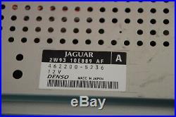 F#4 04-07 JAGUAR XJ8 XJ8L XJR Radio AC Climate Control GPS NAVIGATION Screen OEM