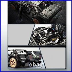 Ford Mustang Hoonicorn Race Car Technic Speed Racing HPI RS4 Sport3 K Block