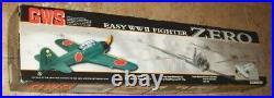 GWS ZERO Japanese WWII Warbird Fighter R/C Kit Motor ARF Boxed