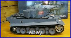 German Tiger I 1/16 R/C Battle Tank by Heng Long Boxed & Working Order