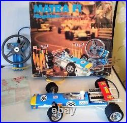 HUGE Vintage Polistil P. 49 Matra F1 V12 Remote Racing Car 1/10th BOXED
