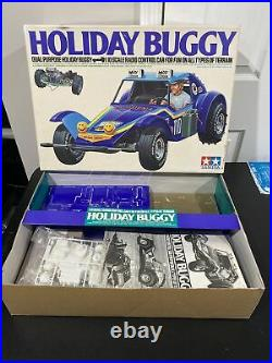 Holiday Buggy TAMIYA Radio Control Car 1/10 Vintage 1980 Original Box