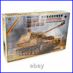 Hooben 1/16 RC Bausatz Deutscher Panzer Elefant + Solution Box 90003-UP