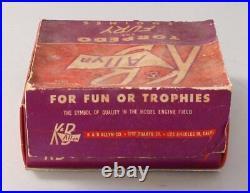 K&B ALLYN #402 Torpedo SEA FURY Outboard Motor. 049 SINGLE/Box