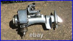 K&B Allyn Torpedo Sea Fury. 049 Nitro Outboard Model Boat Engine with BOX
